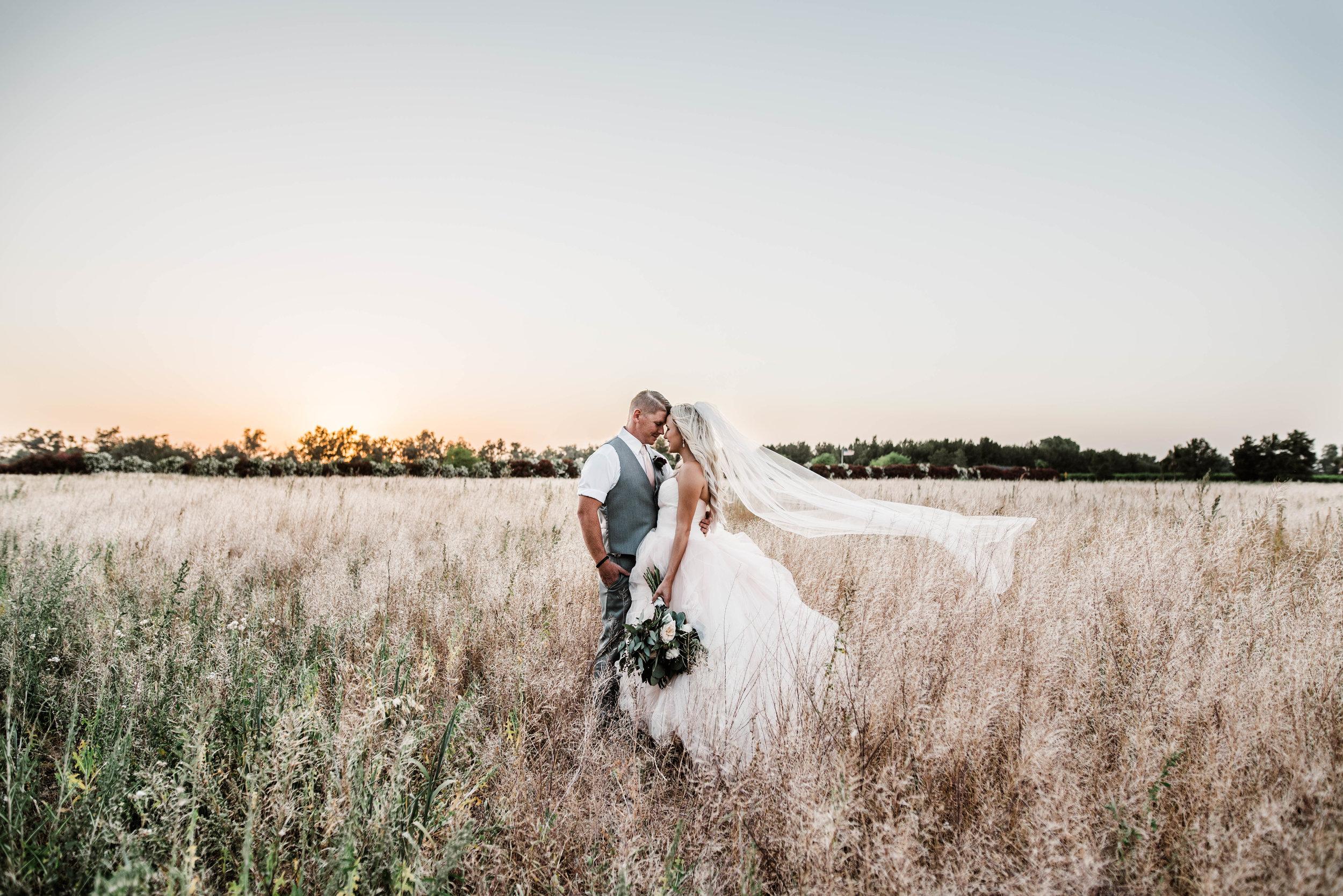 Schnepf Farms Farmhouse Wedding