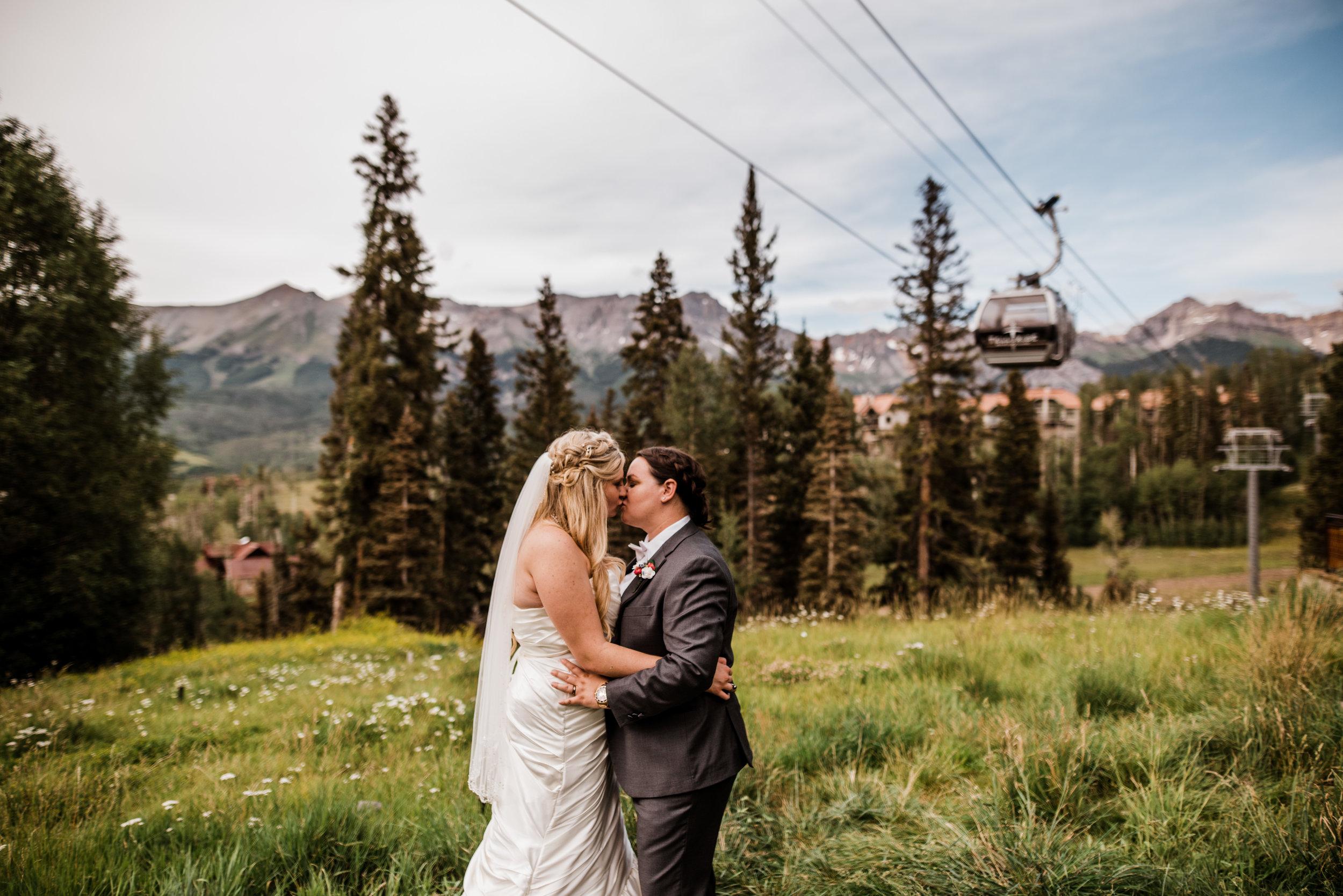San Sophia Overlook Wedding Telluride Colorado
