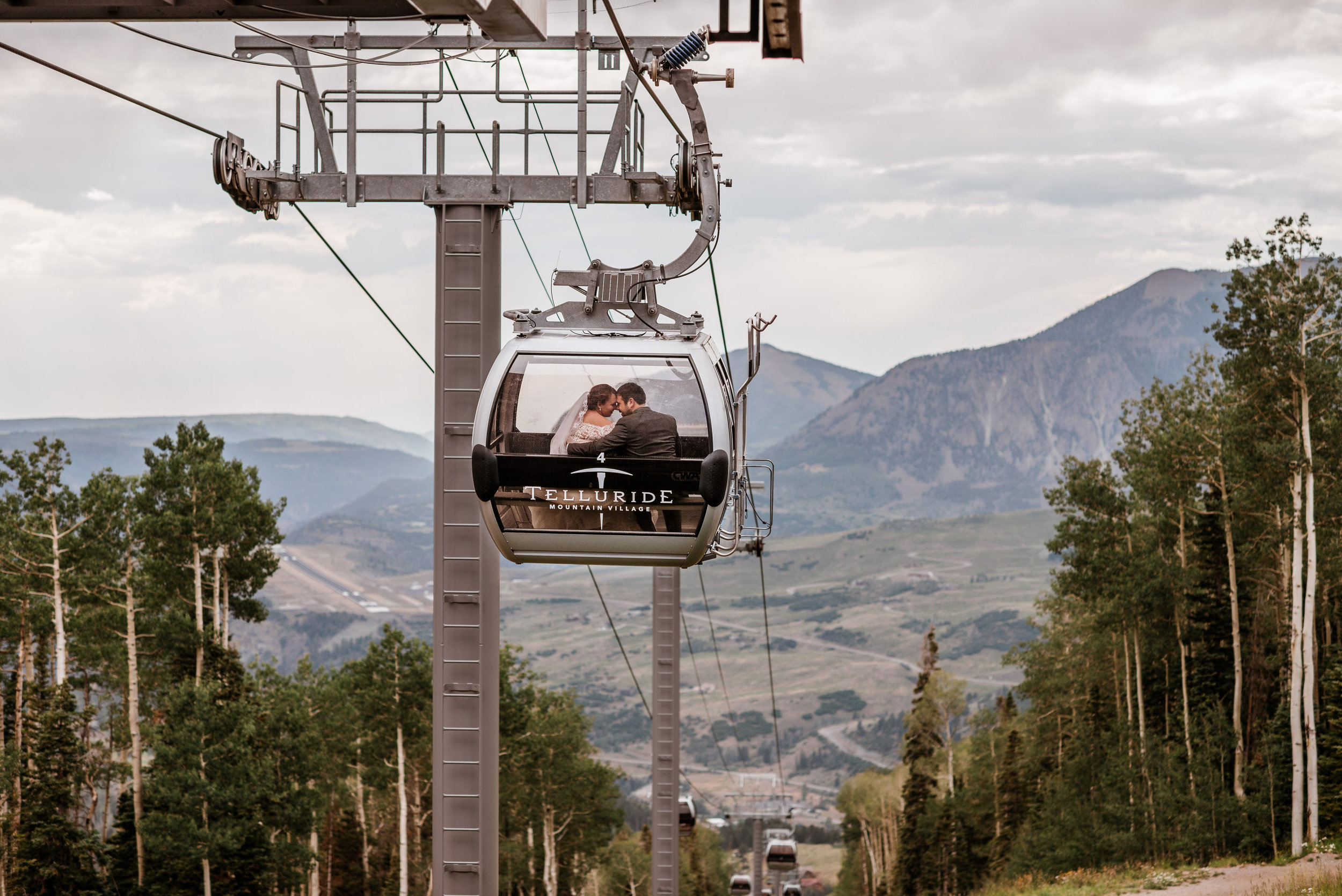 Intimate Telluride Colorado Wedding
