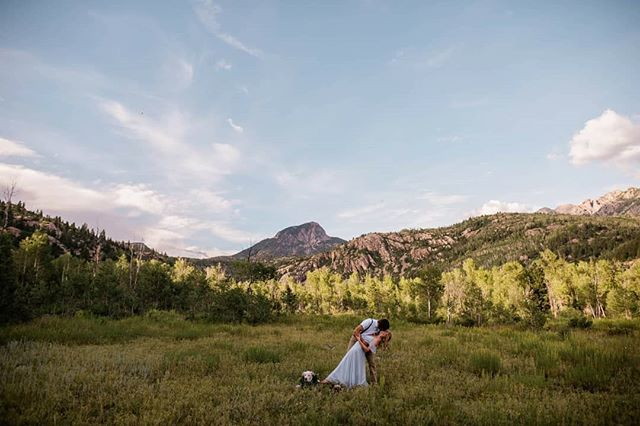 These two and their special spot in the mountains! Hiking to a place you love to marry your best friend is truly an incredible way to get married! Seriously it was such an incredible day filled with so much talk about life, their excitement for how perfect the day was and lots of love, between them and for Abby girl 🐶