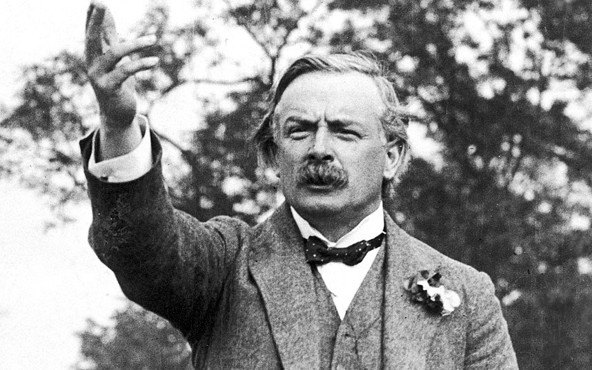 David Lloyd George: 'The Road Hog of Europe' - 1914 — Speakola