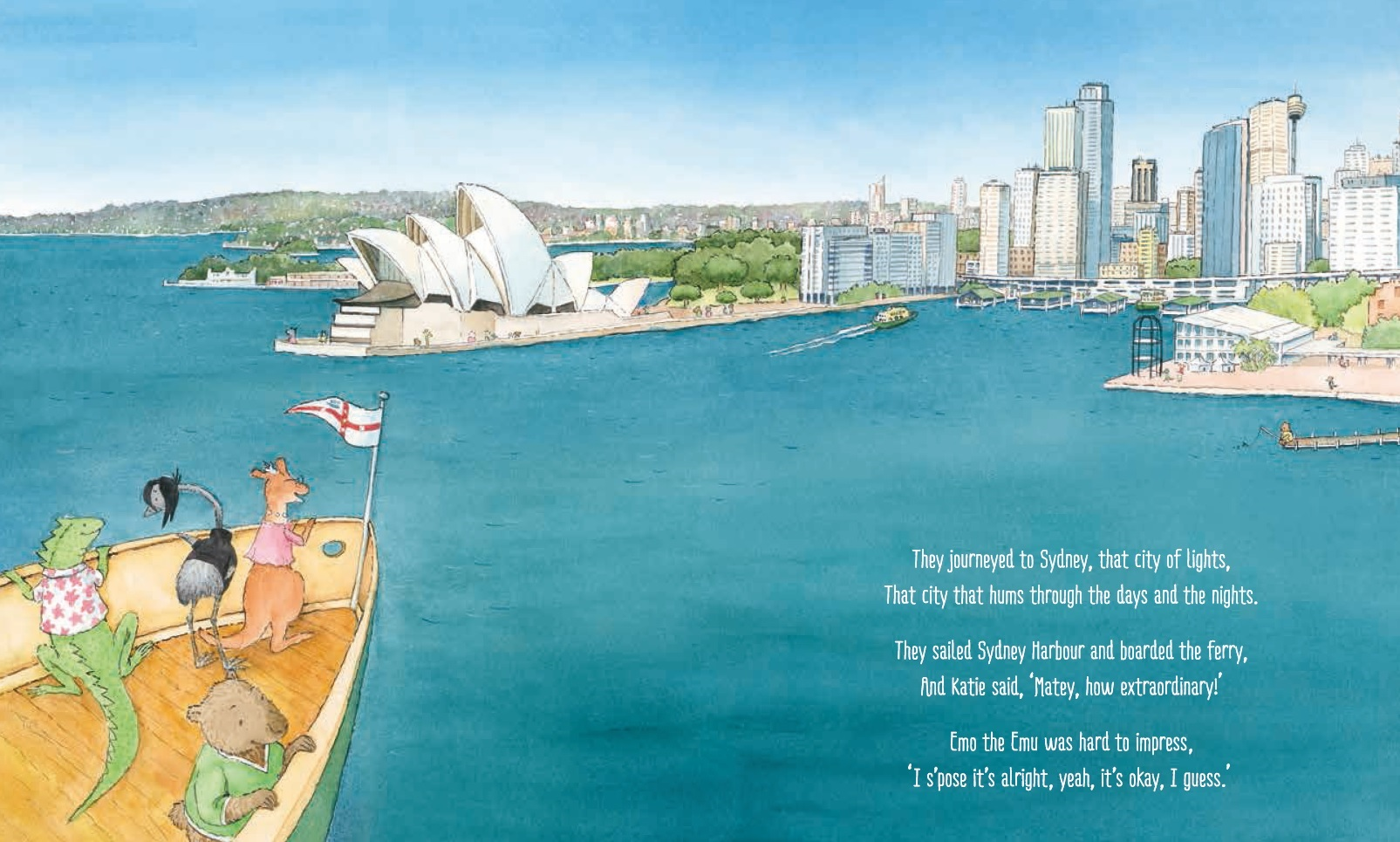 Published 2015, Scholastic Australia, illustrated Lucia Masciullo