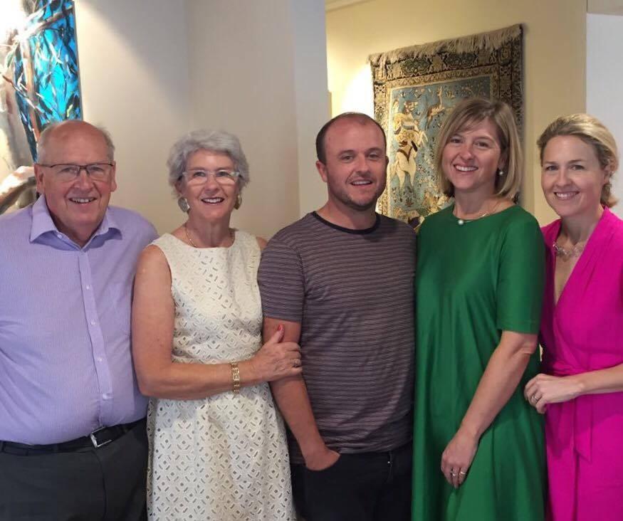 Richard, Caroline, Ben, Sophie and Rosie