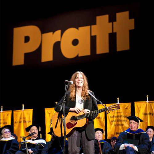 Patti Smity at Pratt University
