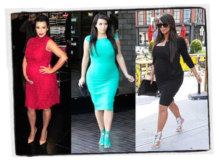YAHOO!: In Defense of Kim Kardashian's Maternity Style