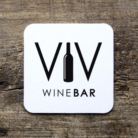 VIV WINE BAR LOGO BY WONDERDOG STUDIOS