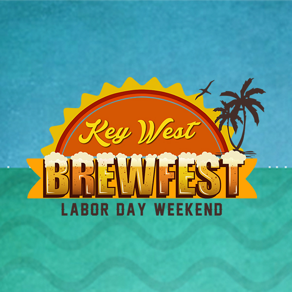 Click to view design and production work for Key West Brewfest by Wonderdog Studios