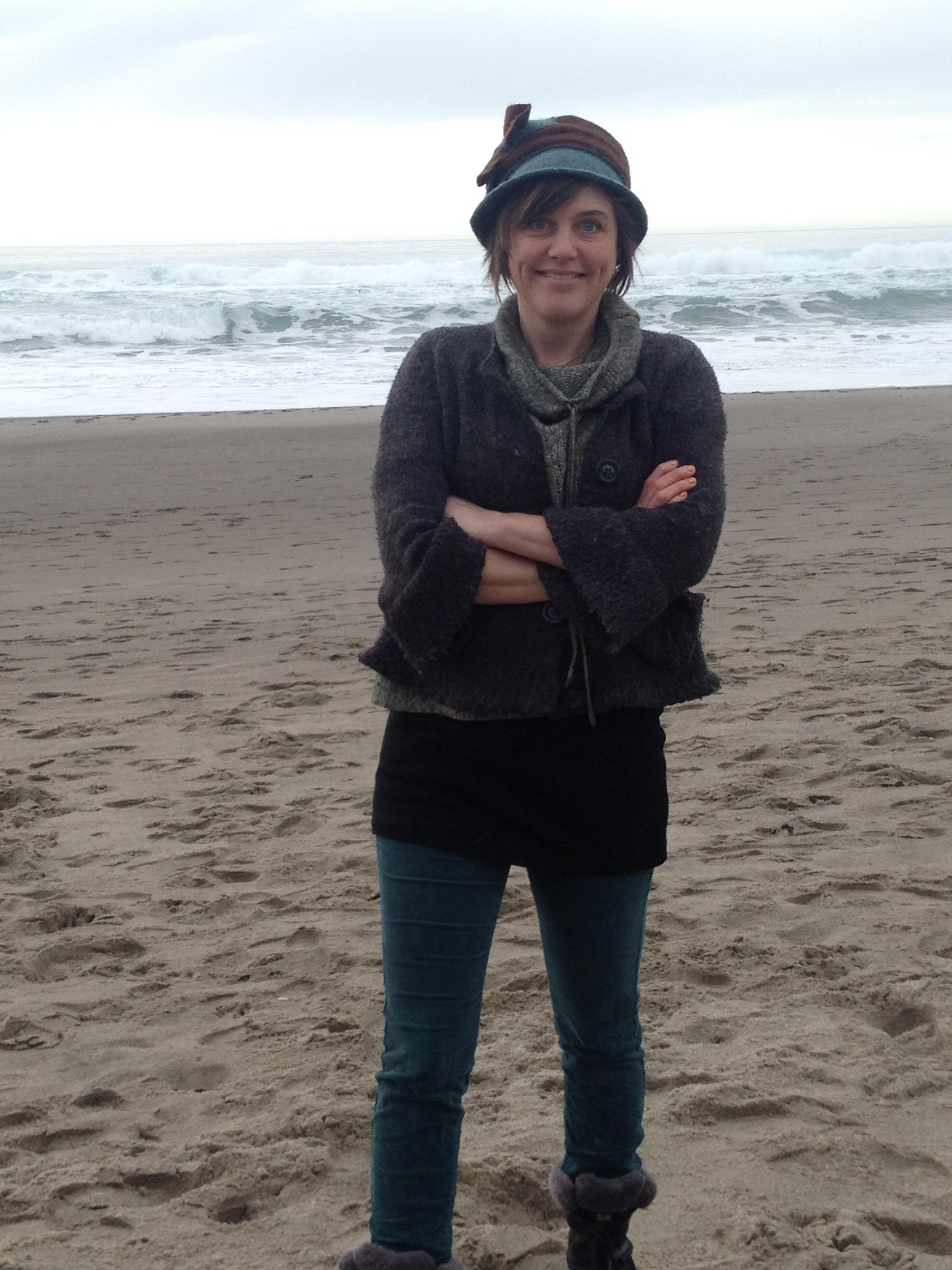 Facilitator Kaia Sand retreats often to the Oregon Coast for her writing