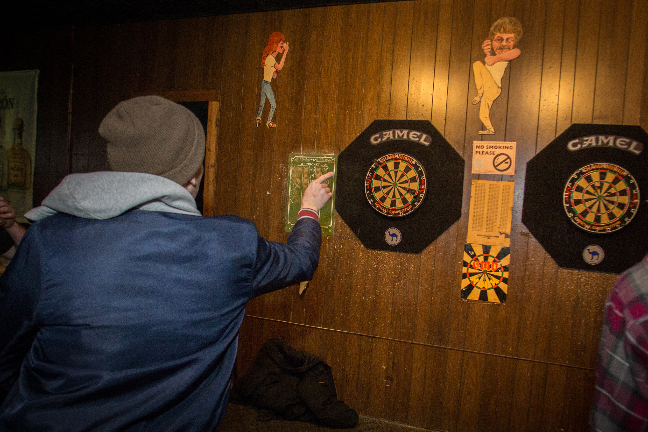 Play Darts at Landmark Lanes
