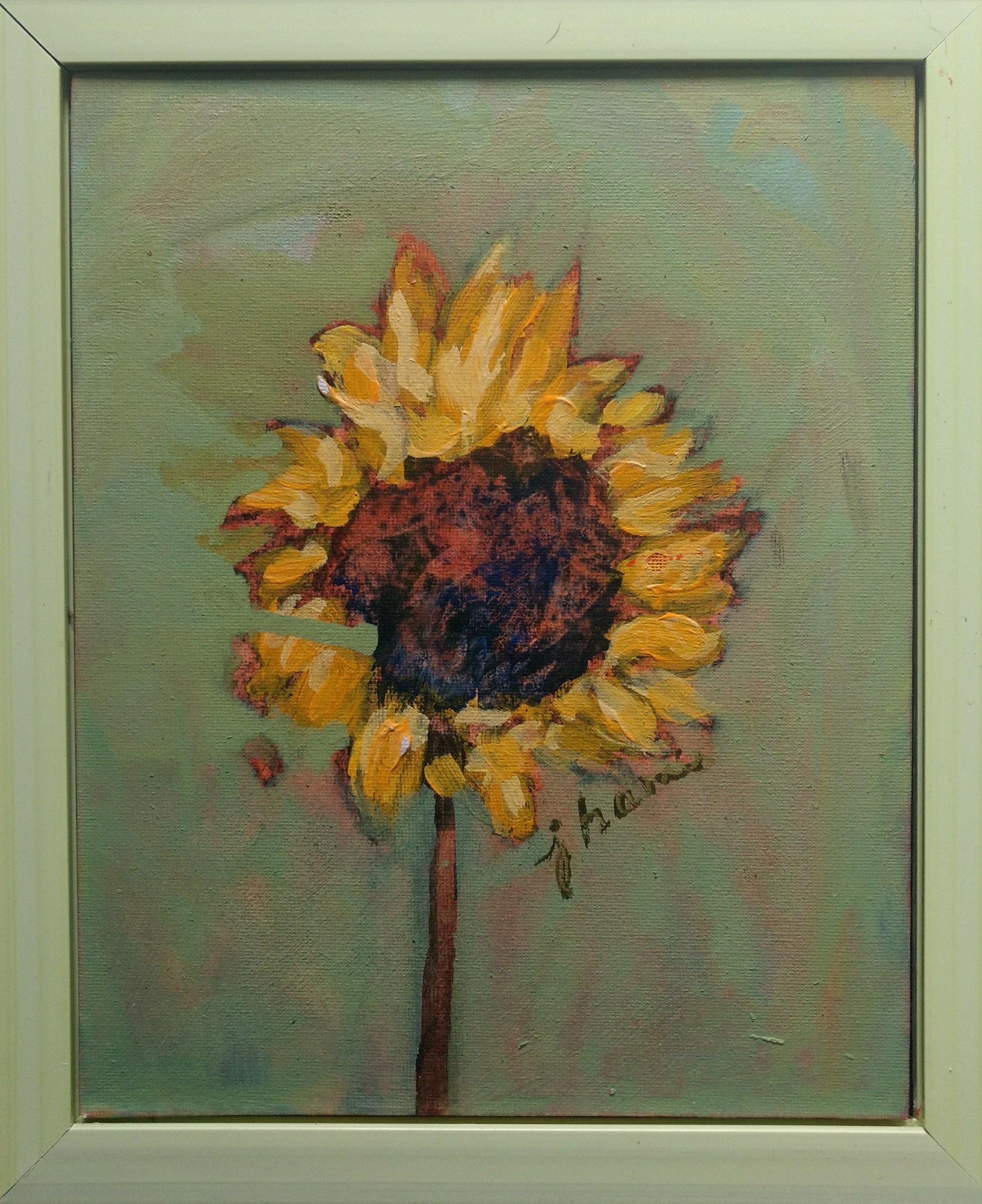 Sunflower Portrait 1
