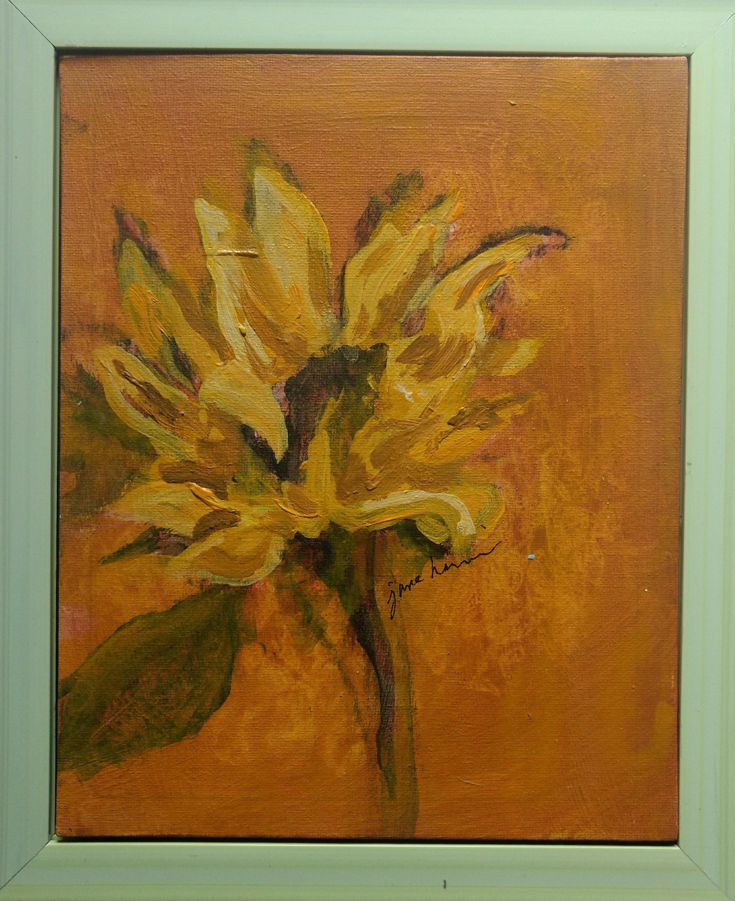 Sunflower Portrait 2