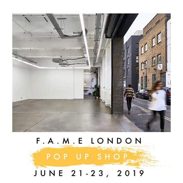 F.A.M.E London Pop-up Shop  Experience #london #unitedkingdom  Gallery & Concept Store Pop-up . . Exhibit your Art | Pop-up your Brand.  Limited Space Available and  Final Deadline May 1, 2019 . . . Want to participate but can't travel. @fame.worldwide can represent your #Art | #Brand during this amazing #experience  Contact us via #DM or #Email  #fame #famegallery #gallery #conceptstore #fametakeover #fameworldwide #fashion #art #arte #music #events #wearableart #supportlivingartists #artcommunity #popupshop #popup #shoreditch