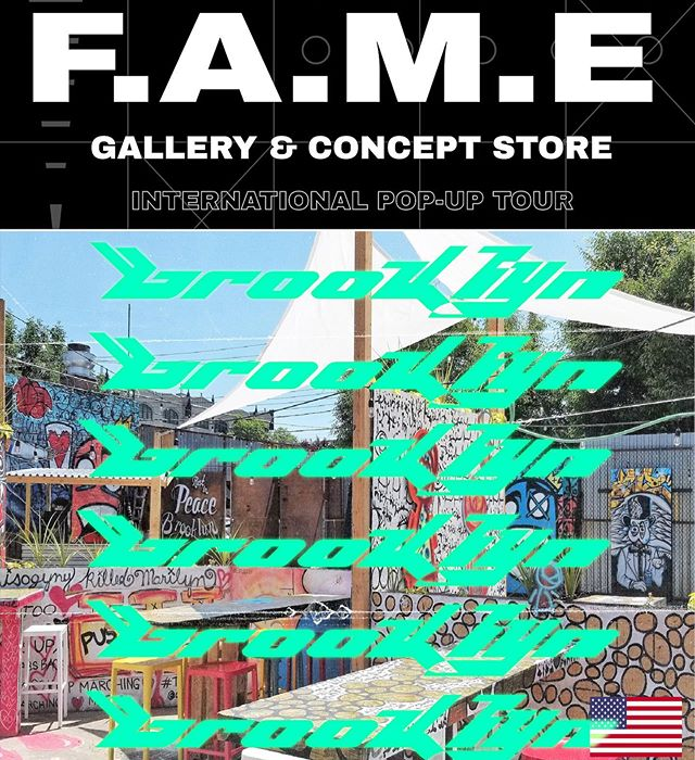 F.A.M.E Brooklyn Experience Pop-up at @BrooklynBeerGarden during #NYFW  Fri. September 6 - Sun. September 8, 2019  In collaboration with @throwingshadedc  Featuring the following creatives  @maddkyng  @skywelkin x @sky_welkin @son_ye  @jeleatanicole  Visual Ad by #TEAMFAME @imperialhive  DEADLINE FOR PLACEMENT IS  JULY 15, 2019 DM us for INFO to Participate  #art #arte #fashion #wearableart #popup #popupshop #live #liveart #music #artist #brand #fameworldwide #fametakeover #artevents #streetart #brooklyn #bushwick #newyork #newyorkcity #nycevents #brooklynevents #beer #beergarden #brooklynbeergarden #music #dj #livemusic #fashionshow