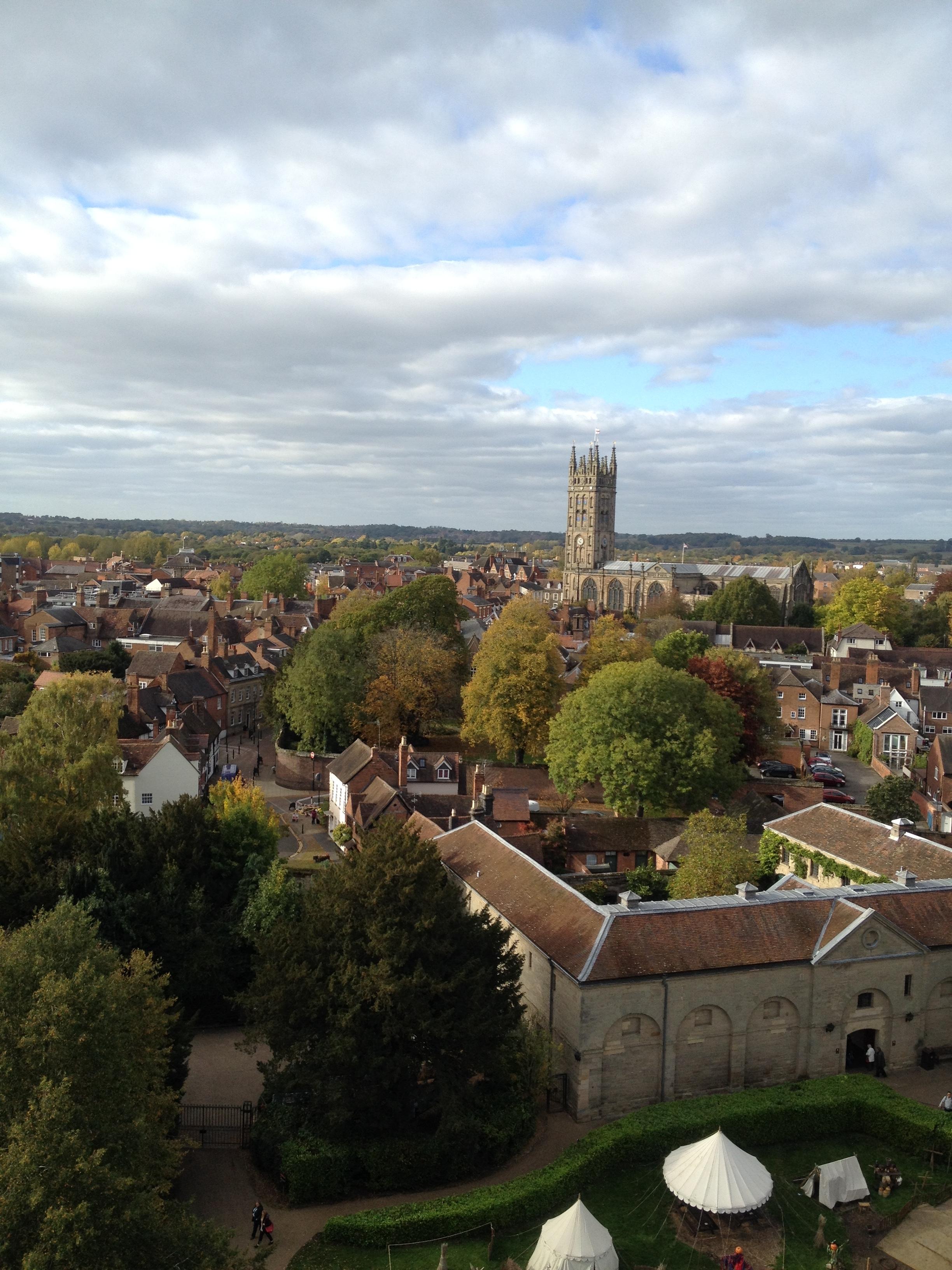 From Warwick Castle