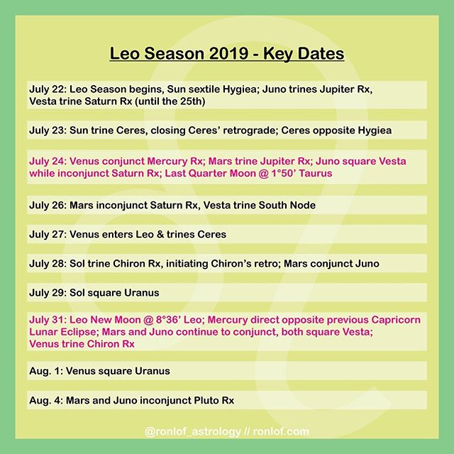 Grab your calendars, Leo Season provides some of the best shifts in energy we're experiencing in the past few months. Praise be! 🦁☀️✨ What'll you be experiencing around these dates? ⠀⠀⠀⠀⠀⠀⠀⠀⠀⠀⠀⠀⠀⠀⠀⠀⠀⠀⠀⠀⠀⠀⠀⠀ ⠀⠀⠀⠀⠀⠀⠀⠀⠀⠀⠀⠀⠀⠀⠀⠀⠀⠀⠀⠀⠀⠀⠀⠀ #astrologersofinstagram #energyforecast #spiritualgangster #consciouscommunity #aries♈️ #taurus♉️ #gemini♊️ #cancer♋️ #leo♌️ #virgo♍️ #libra♎️ #scorpio♏️ #sagittarius♐️ #capricorn♑️ #aquarius♒️ #pisces♓️ #beyou #queerastrology #leoseason #gayastrology #gayastrology #gayastrologer #astrologylover #mercuryretrograde #selfcare #celebrateyou #selflove #leo