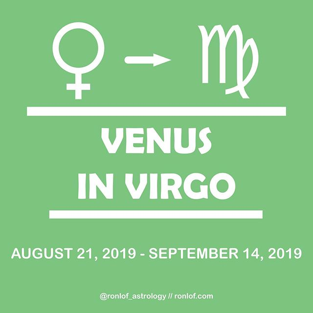 With just two days left of Leo Season Virgo energy is getting stronger. Venus now joins Mars in Virgo as they prepare to meet this weekend. Virgo Season begins Friday morning. Use this time to get yourself in the best position as possible for autumn ☺️😚