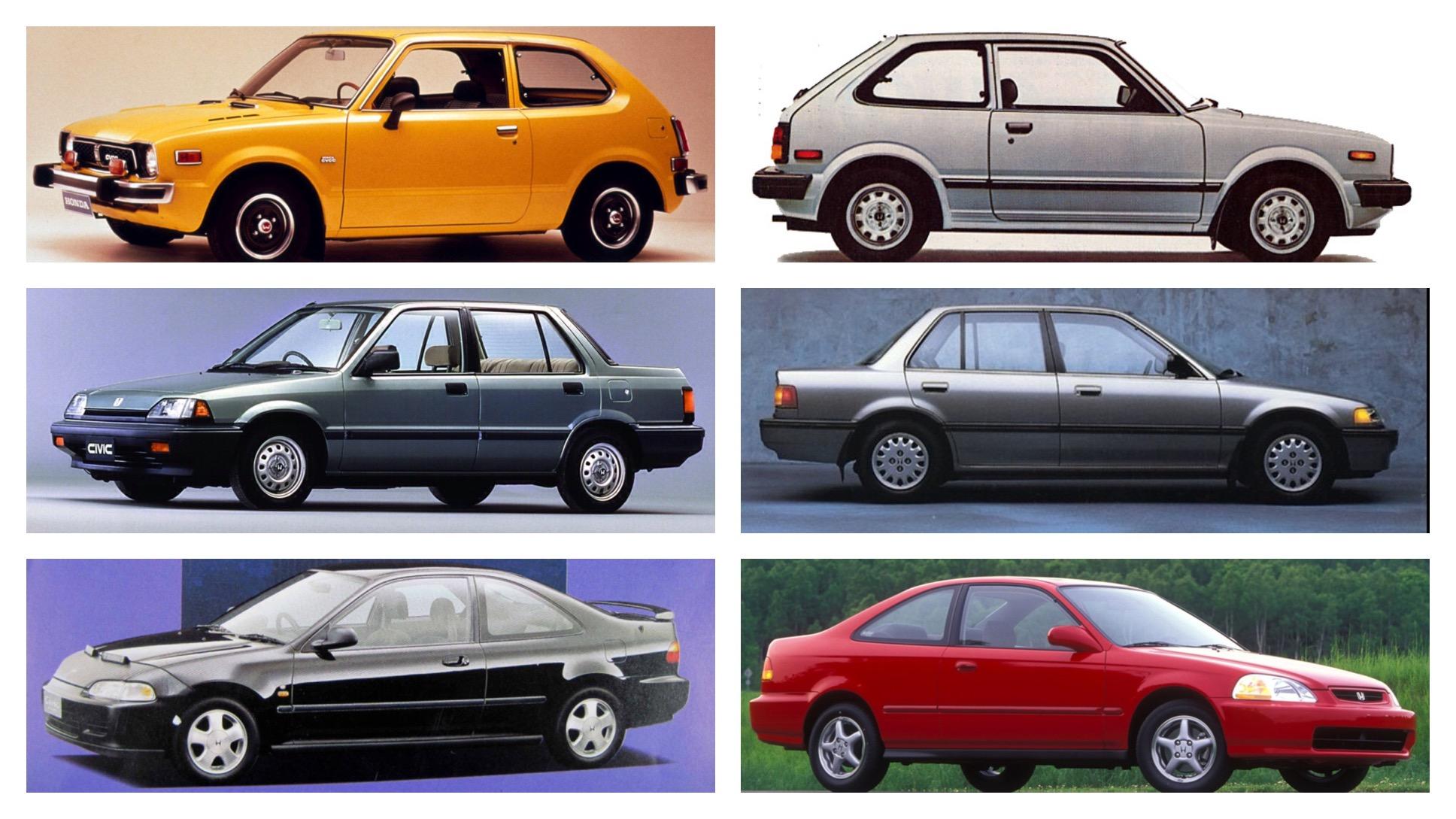 CIVIC 1972-2002 -