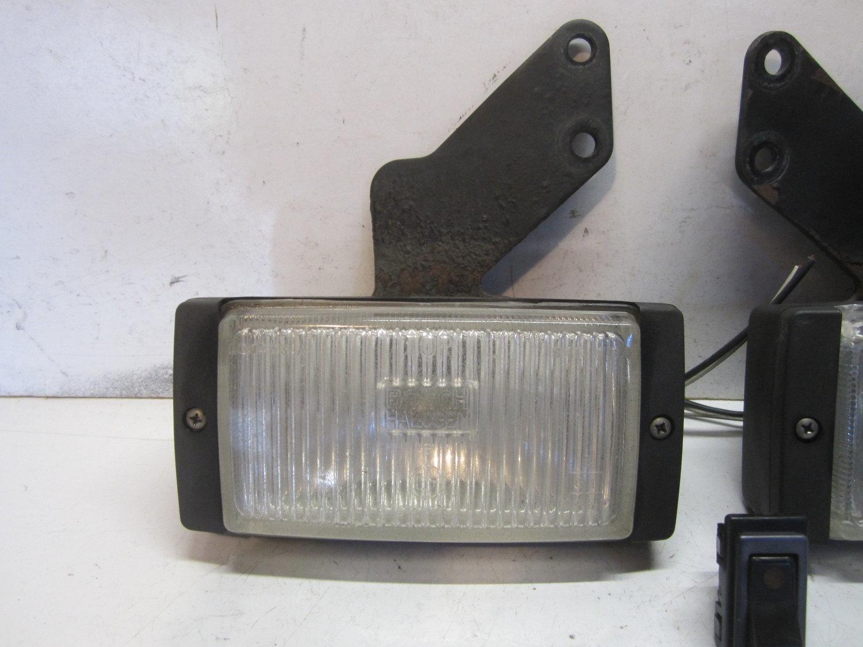 OEM 87-89 USDM Honda Accord CA3 SE3 sedan coupe fog light bumper cover FR gold