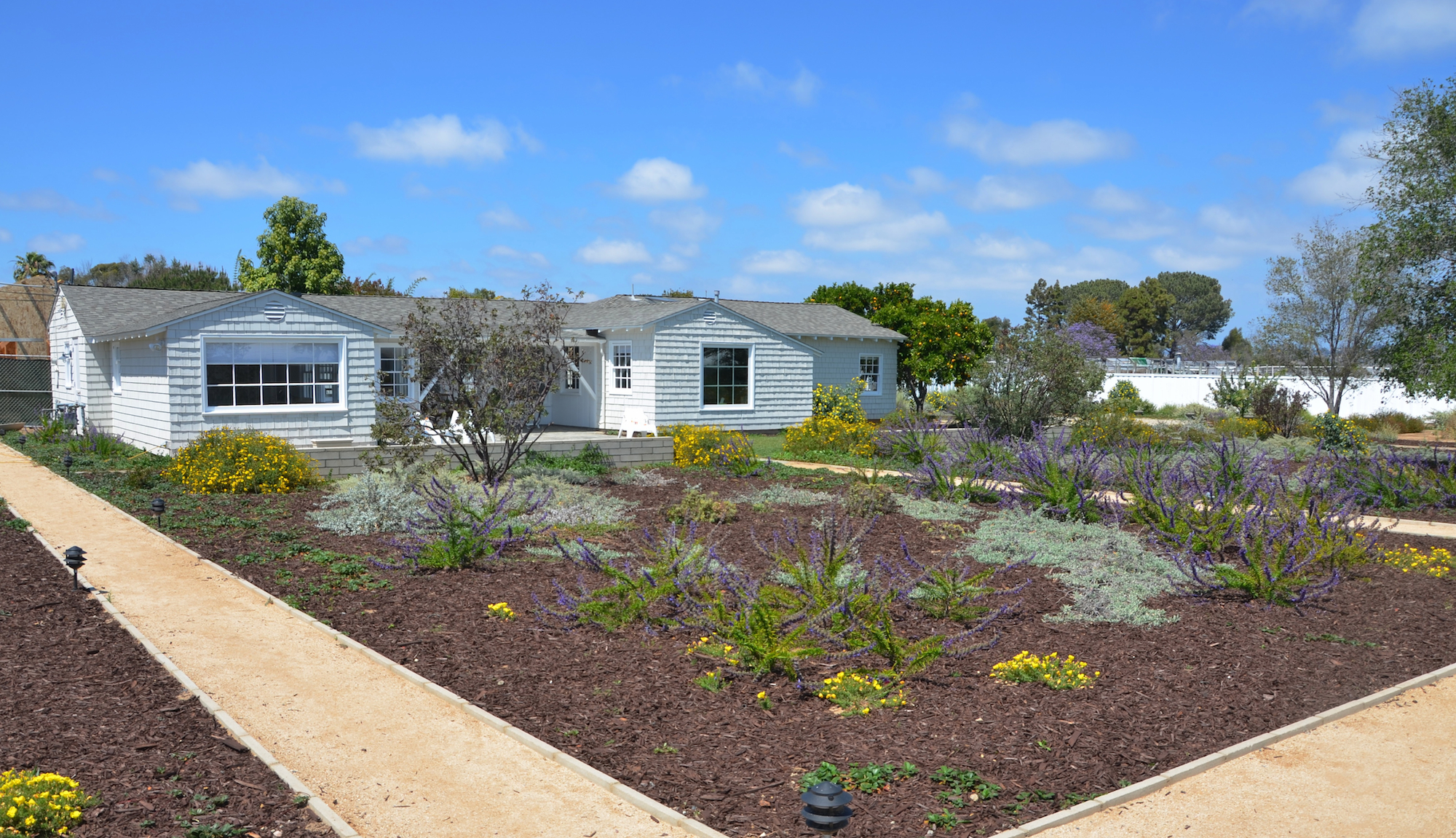 An acre of gardens for recovery.