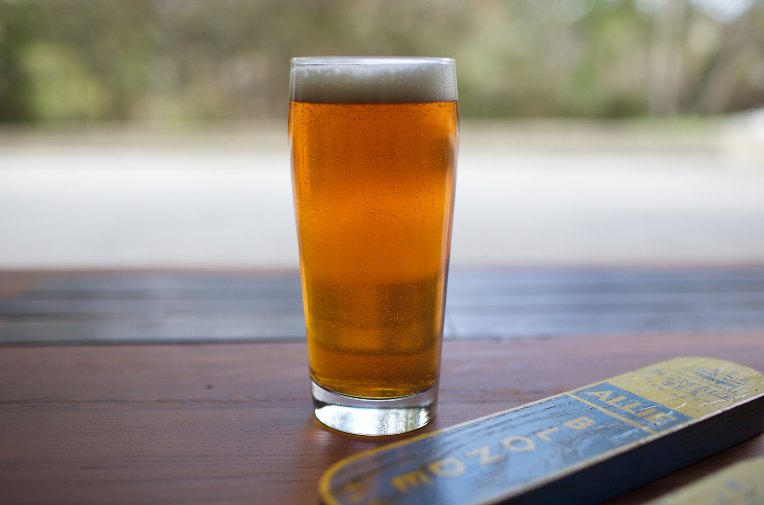 The Allie Blonde Ale will be one of our beers on tap tomorrow to help raise funds for the O'neil Sea Odyssey at the Food Lounge