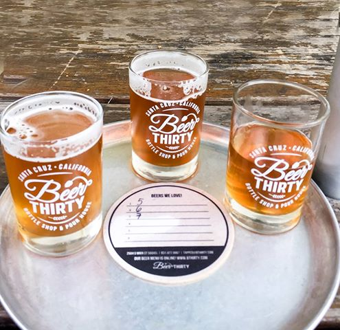 Spending money on a flight of Humble Sea beers feels rewarding. A few weeks ago, we were fortunate enough to have three beers on tap at Beer 30.
