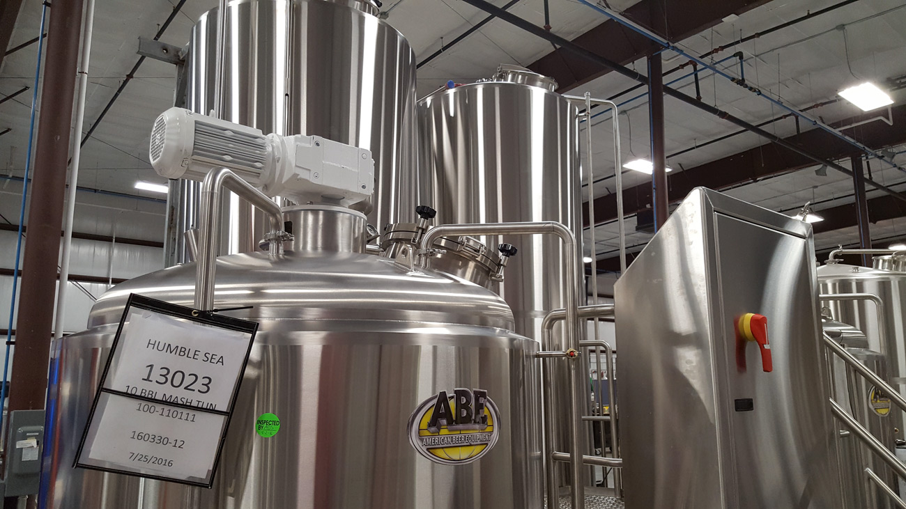 Stainless steel is expensive. Especially custom-made from American Beer Equipment. Let's hope it pays off?
