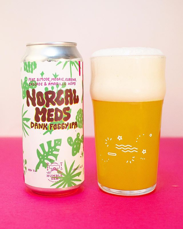 T R I P L E  D A N K  R E L E A S E  Presale—Wednesday, August 14th at noon Taproom Release—August 16th at noon  Can 1—NorCal Meds (7%) Dank Foggy IPA featuring Simcoe, Mosaic, Eureka, Cascade & Amarillo  We have a triple can release this week with three dank beers destined for @moderntimespdx Festival of Dankness this month.  Up first is our go-to foggy dank, NorCal Meds. A textured malt bill of Pilsner malt, spelt and white wheat brings a luxurious chewy mouthfeel and a classic, bright fog. Cascade and Amarillo in the kettle create a spicy tangerine base followed by a dry hop of Eureka and then a massive dry hop of Mosaic and Simcoe.  The result is impressive aromas of fresh cannabis and dank citrus juice with lingering tropical fruits-like you took your favorite sticky substance and rolled it up in a pineapple flavored wrap 🍍 🌳 #humblesea⠀⠀⠀⠀⠀⠀⠀⠀⠀⠀⠀⠀⠀⠀⠀⠀⠀⠀⠀⠀⠀⠀⠀⠀⠀⠀⠀⠀⠀⠀⠀⠀⠀⠀⠀⠀⠀⠀⠀⠀⠀⠀⠀⠀⠀⠀⠀⠀⠀⠀⠀⠀⠀⠀⠀⠀⠀⠀⠀⠀⠀⠀⠀⠀⠀⠀⠀⠀⠀⠀⠀⠀⠀⠀⠀⠀⠀⠀⠀⠀⠀⠀⠀⠀⠀⠀⠀⠀⠀⠀⠀⠀⠀⠀⠀⠀⠀⠀⠀⠀⠀⠀⠀⠀⠀⠀⠀⠀⠀⠀⠀⠀⠀⠀⠀⠀⠀⠀⠀⠀⠀⠀⠀⠀⠀⠀⠀⠀⠀⠀⠀⠀⠀⠀⠀⠀⠀⠀⠀⠀⠀⠀⠀⠀⠀⠀⠀⠀⠀⠀⠀⠀⠀⠀⠀⠀⠀⠀⠀⠀⠀⠀⠀⠀⠀ ⠀⠀⠀⠀⠀⠀⠀⠀⠀⠀⠀⠀⠀⠀⠀⠀⠀⠀⠀⠀⠀⠀⠀⠀⠀⠀⠀ #californiabeer #craftbeer #santacruz #bayareabeer #santacruzbeer #beernerd #beer #beerpics #instabeer #beerstagram #summerbeer #dankbeer #dankness #kookssinceforever #coastbeer