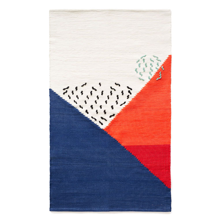 ANTS BOULEVARD - ART RUG BY MAMAMA