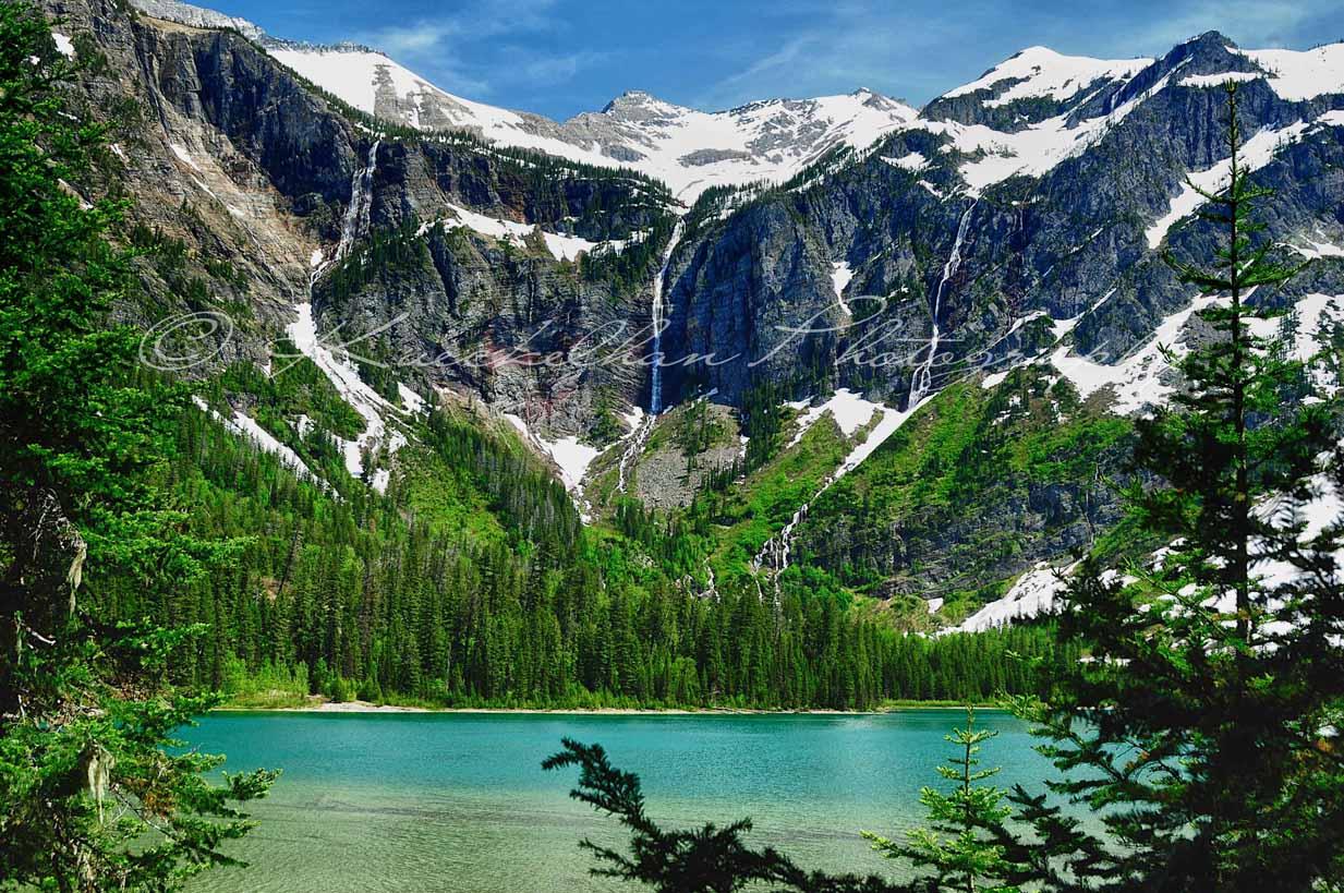 Triple Falls- Avalanche Lake