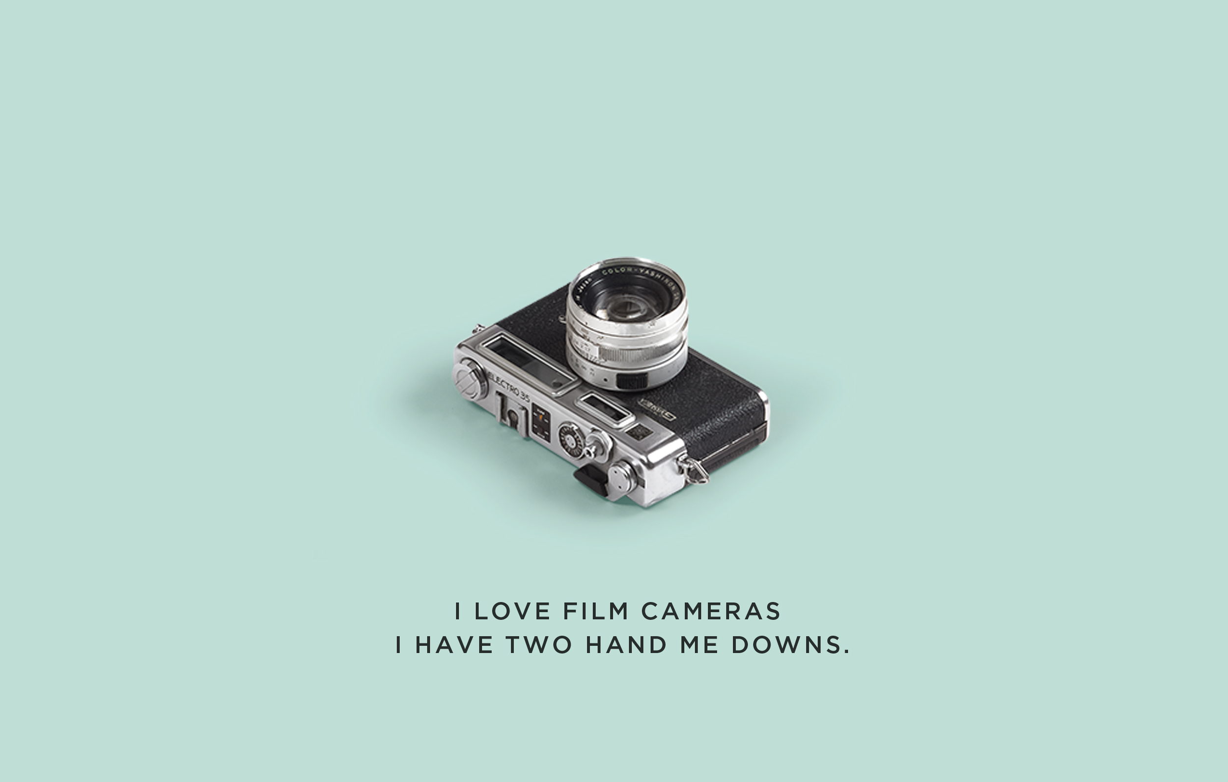 Rachel Mutia loves old cameras.