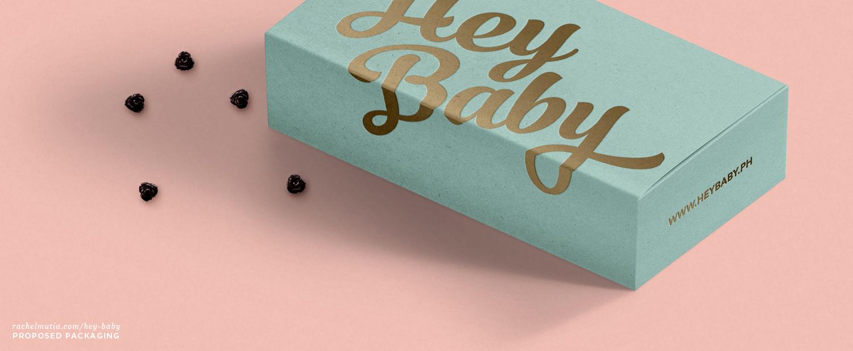Hey Baby Proposed Packaging by Rachel Mutia