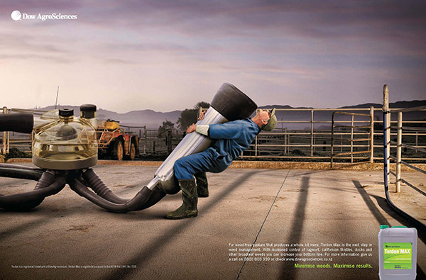 Dow AgroScience Campaign Agency: JWT NZ Photographer: Mat Bake