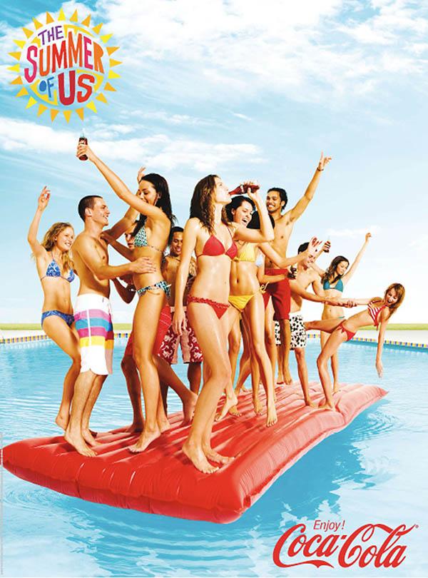 Coca Cola, summer campaign Agency: Ogilvy Photographer: Derek Henderson