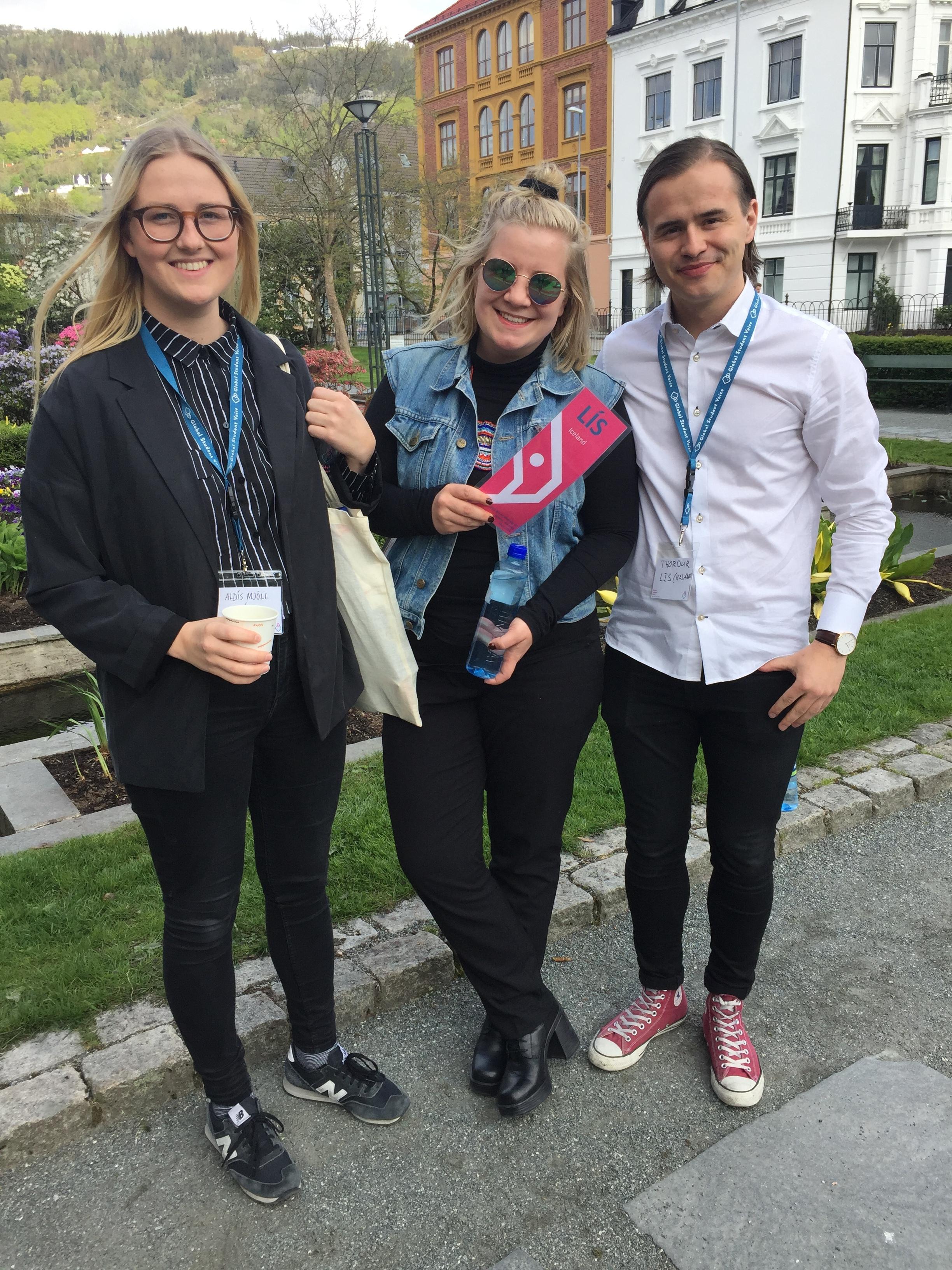 Aldís Mjöll Geirsdóttir, Helga Lind Mar og Þórður Jóhannsson