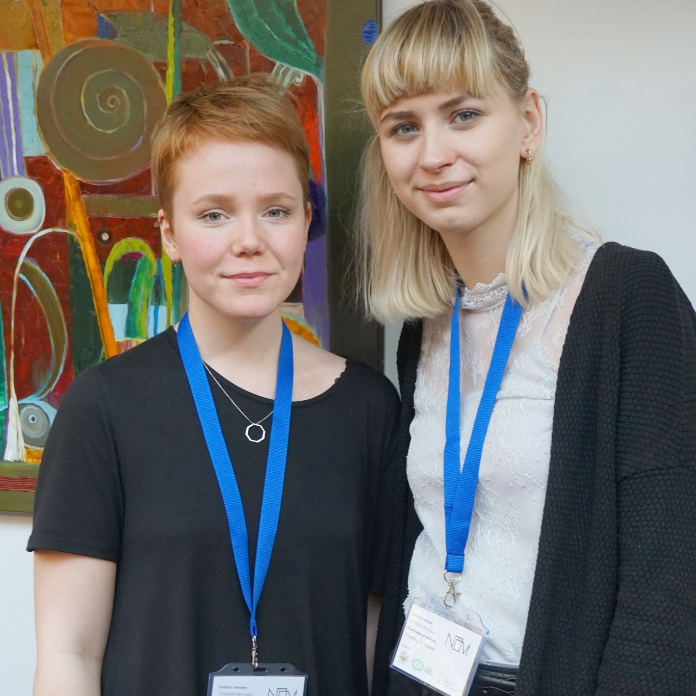 Fulltrúar LÍS á ráðstefnunni: Elsa María Guðlaugs Drífudóttir og Eygló María Björnsdóttir