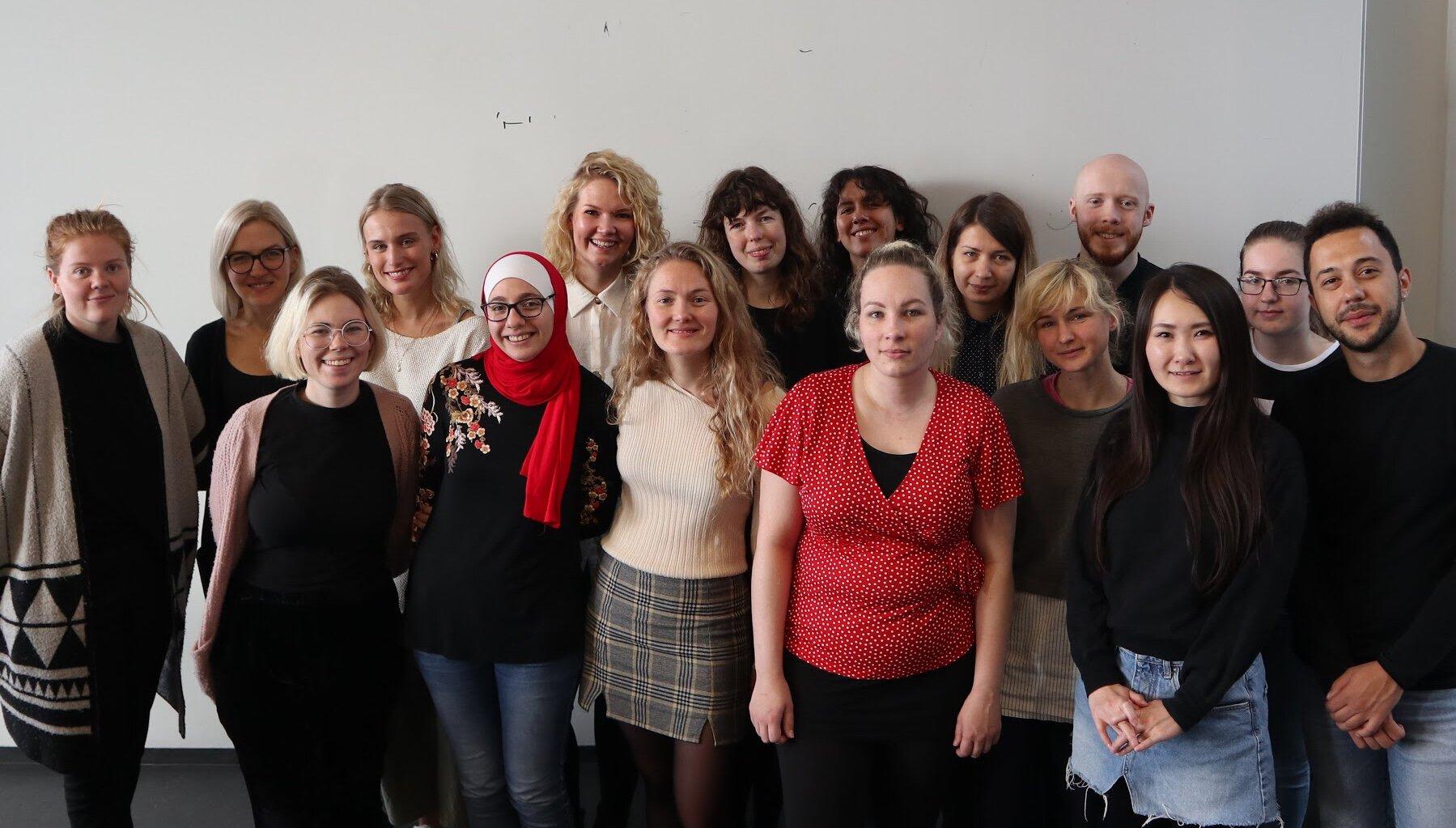 Sjálfboðaliðar, verkefnastjórar og Studenterhuset // Volunteers, project managers and Studenterhuset