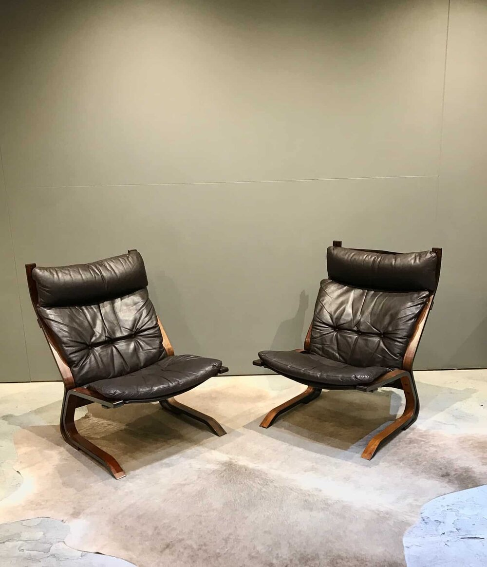 16 Vintage Danish Leather Chairs Mid Century Furniture Melbourne