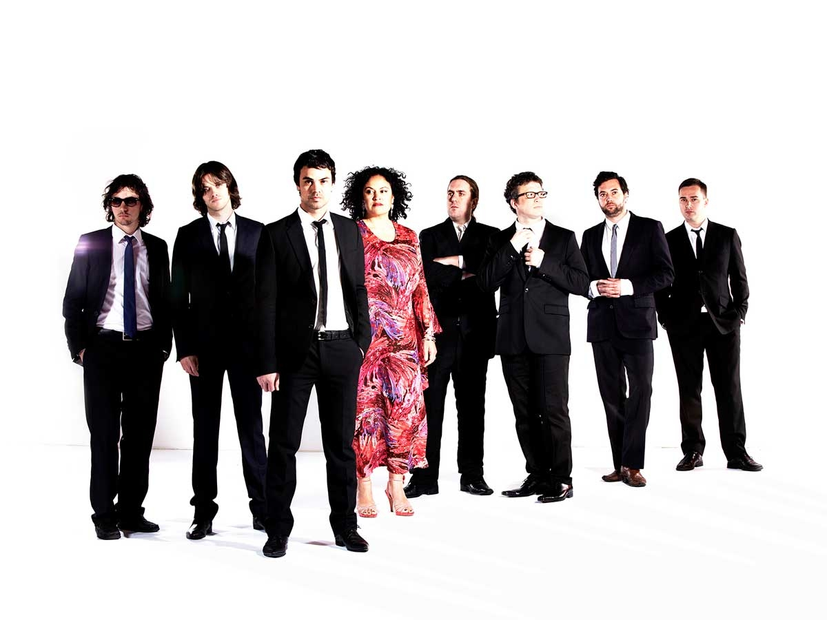 """Founded in Melbourne in 2000 by bandleader, producer and main songwriter Lance Ferguson, eight-piece powerhouse The Bamboos have continually redefined Australian Soul music and continue their reputation as harbingers of musical evolution.  They have received five ARIA Awards and three APRA Music Awards nominations over their seven studio albums and have long been regarded as Australia's best live bands in the country, regardless of genre, and have graced stages at key festivals such as Splendour In The Grass, Meredith, Bluesfest, WOMADelaide, Falls Festival, and Homebake. """"I Got Burned"""", the band's initial collaboration with Tim Rogers in 2012, and the album it came from, 'Medicine Man', saw the band reach new heights. The song was voted #54 in that year's Triple J Hottest 100. In 2015 Rogers and The Bamboos released the acclaimed 'The Rules Of Attraction' album, released by iconic imprint Atlantic Records. Marking their 15th year as a performing band, 2015 saw that release spawn another packed out tour as well as an ARIA Award nomination for 'Best Blues And Roots Album'.  The band has also collaborated with vocalists like Aloe Blacc, Megan Washington, Daniel Merriweather and Alice Russell. But with one of the country's most powerhouse vocalists, Kylie Auldist, as a long standing member, guests just add further magic to what's already an incredible band, both live and in the studio.  Millions across the world are now familiar with the guitar playing of bandleader Lance Ferguson and the vocals of Kylie Auldist, thanks to them being featured on the global smash single """"This Girl"""" by Kungs Vs. Cookin' On 3 Burners. The remix by the French producer of the 2009 track by the Melbourne trio that Ferguson played with at the time, has been a platinum seller and hit #1 in numerous countries around the world. In addition it was also nominated for 'Song Of The Year' at the 2016 ARIA Awards.  Amid a glut of revivalists re-treading the retro waters The Bamboos have carved out a s"""