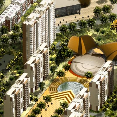 NIUBAUTUN NEW TOWN, CHINAO 2000