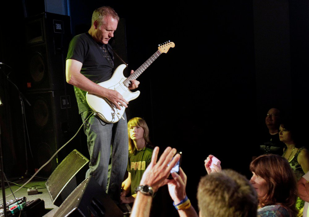 Rod performing live