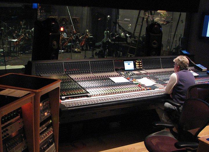 Leslie Ann Jones at the helm at Skywalker Studios