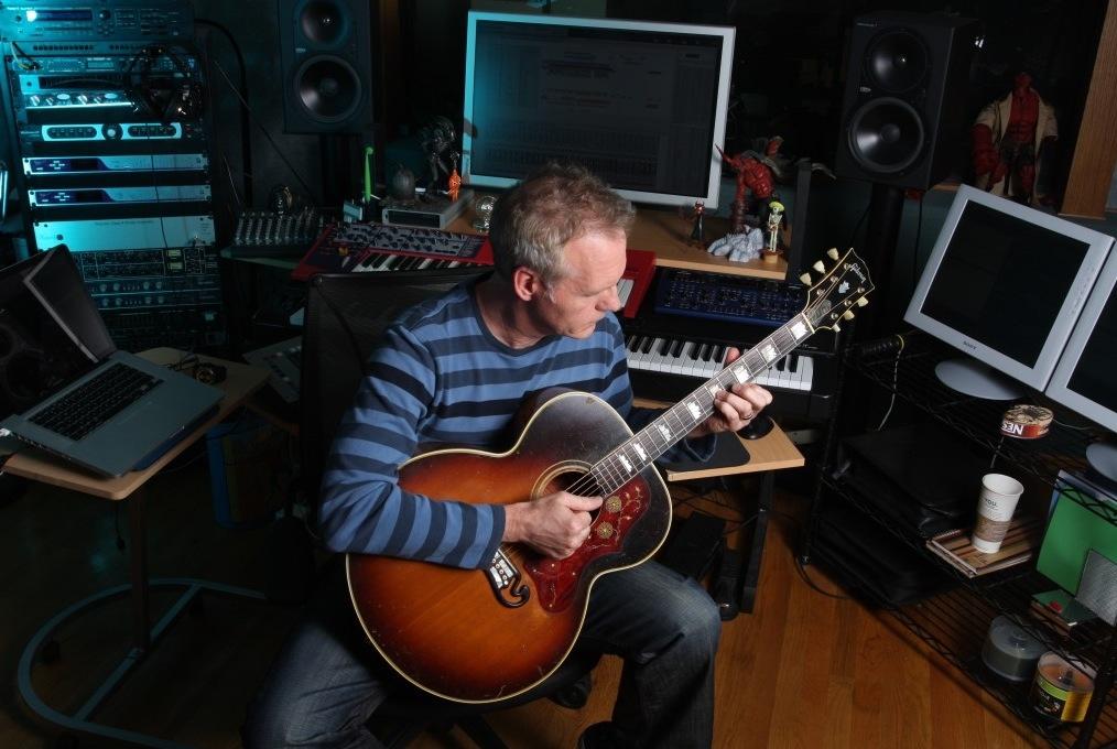 Rod in the studio.