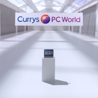 CURRYS PC WORLD // LUDOVIC BOURCE