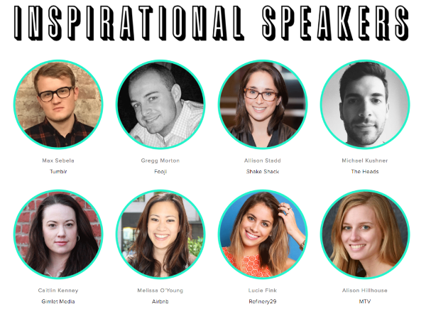 Click to access our full list of YMS NYC 2016 speakers