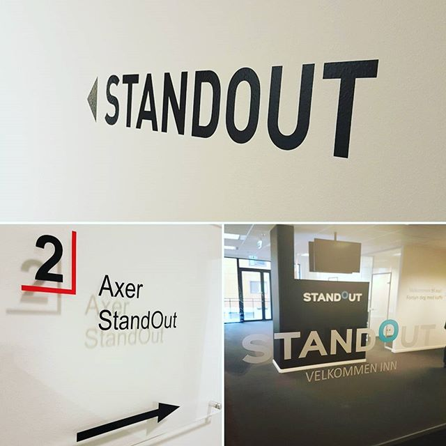 Nå blir det lett å finne frem til vårt nye kontor!  Stikk innom for en jobbprat når du er i nærheten. Hos oss er du alltid velkommen 👌 🍵  #standout #standoutno #recruiting #staffing #headhunting #office #bergen #norway #norge #business #coffee #rekruttering #bemanning #nyjobb #newjob #job #finance #sales #marketing #salg