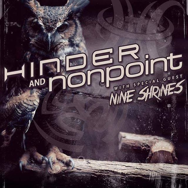 WE'RE OPENING FOR HINDER. APRIL 29TH. $27. THE WAREHOUSE - CLARKSVILLE. BE THERE. ps MESSAGE US FOR TICKETS.