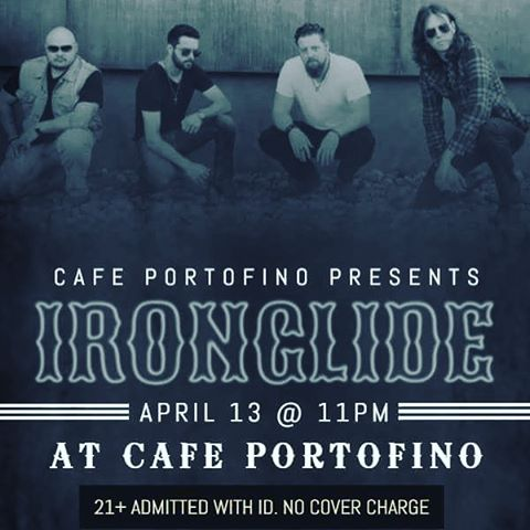 Next week we head to North Carolina! Catch us at Cafe Portofino in Boone NC. No cover! 🤘🏼🤘🏼