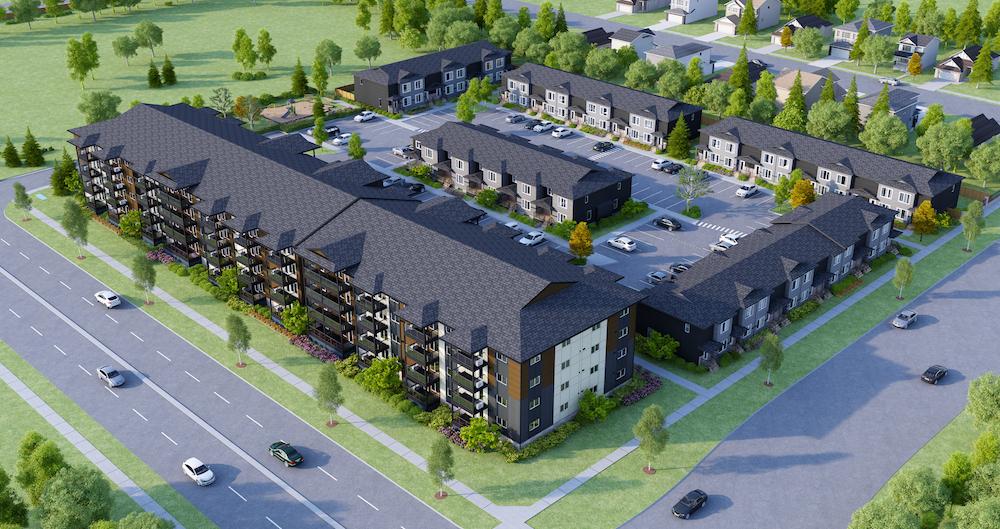 Hudson Condominiums - Winnipeg's newest condo development in Devonshire Village.