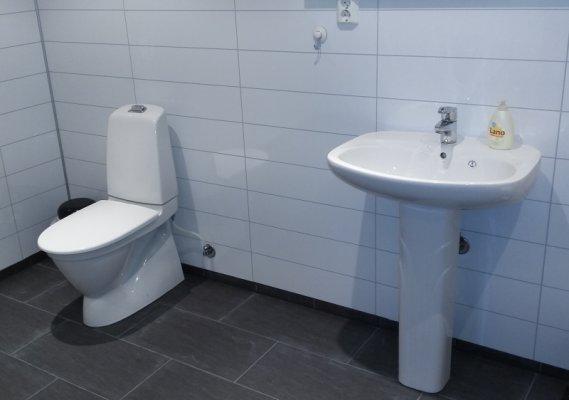 Hålandsneset GrenDalag fekk i 2015 tildelt kr. 15.000 i stønad til bygging av nytt toalettanlegg for grendalagshuset.