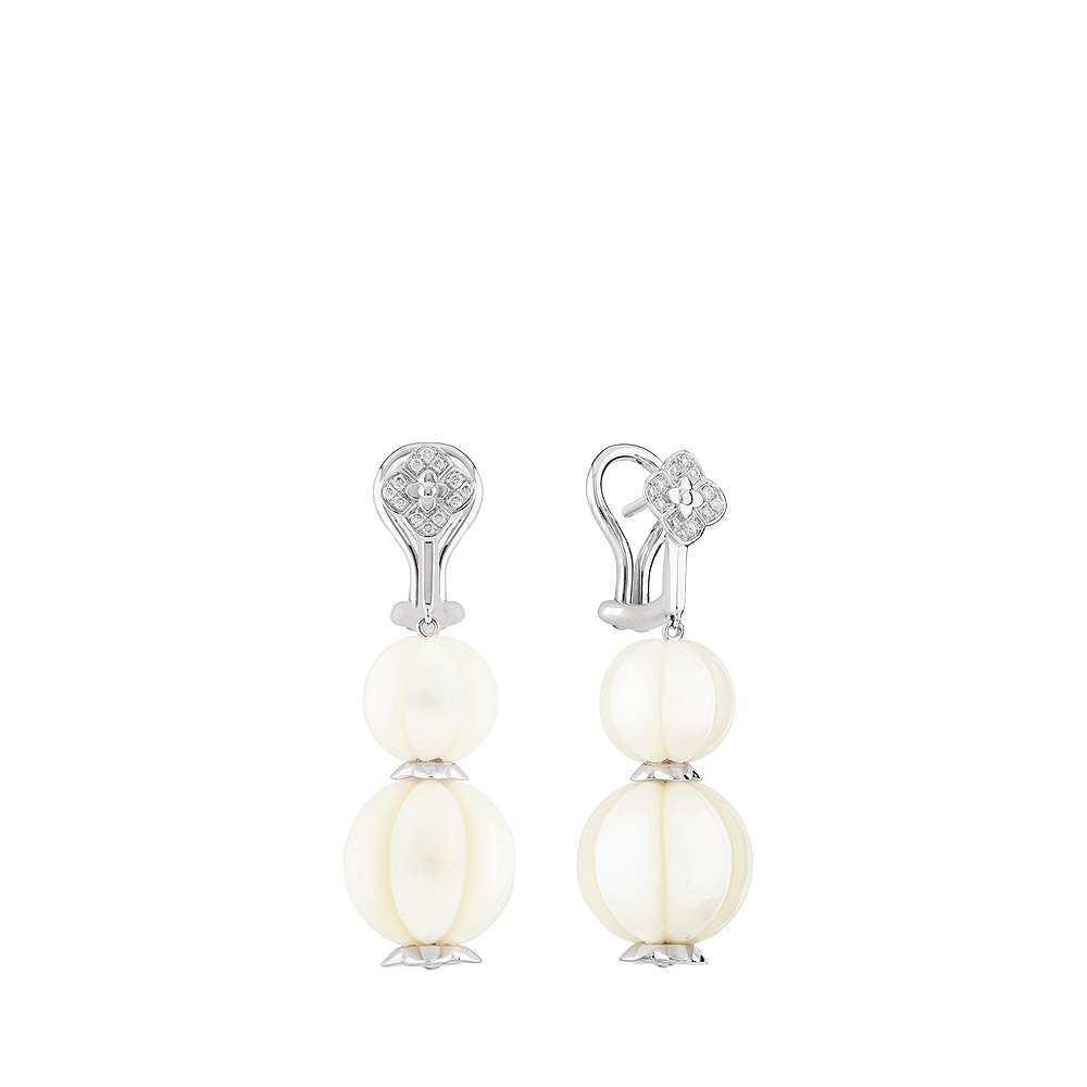 Lalique Muguet Earrings